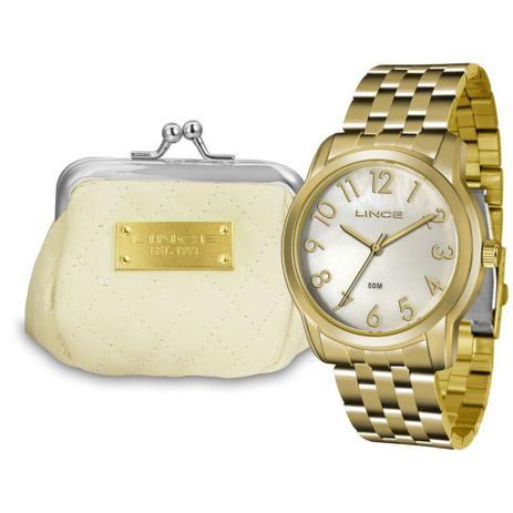 f5d72827428 Relógio Feminino Lince Lrg4456l Kt72 Dourado - Relógio Feminino ...