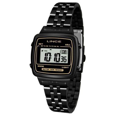 4610974329b Relógio Feminino Lince Retrô Sdph068l Bxpx - Preto - Relógio ...
