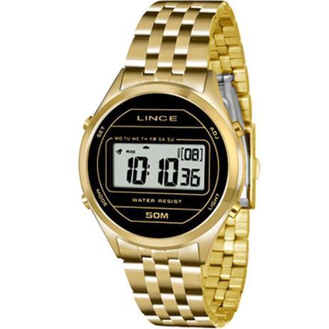 31c15e85281 Relógio Feminino Lince Sdph021l Bxkx - Dourado - Relógio Feminino ...