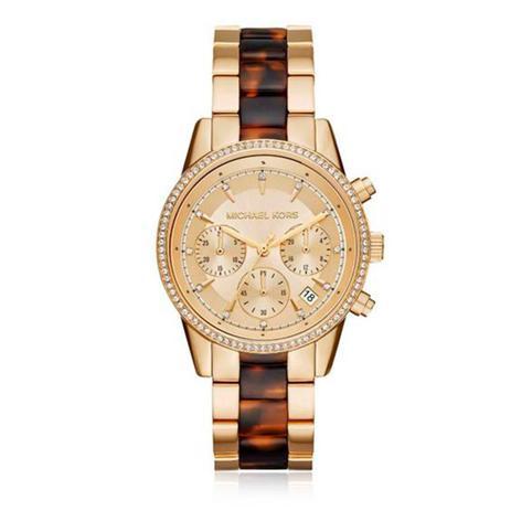 9eb83b5612a Relógio Feminino Michael Kors MK6322 5DN Dourado - Relógio Feminino ...