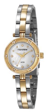 80cd3c05b7c Relógio Feminino Mondaine 83380LPMVBE2 29mm Aço Bicolor Prata Dourado