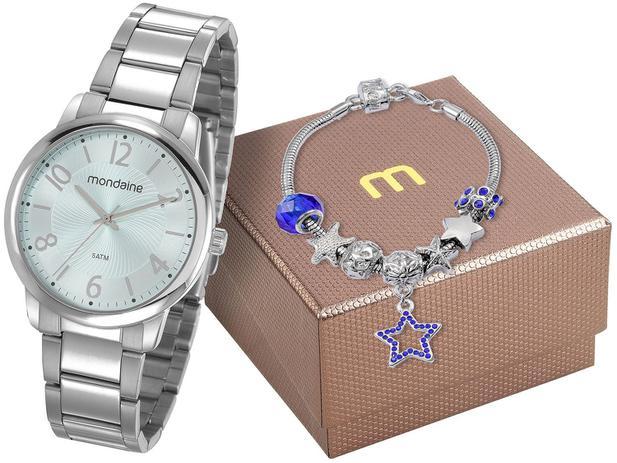 23b79602722 Relógio Feminino Mondaine Analógico - 53738L0MGNE4K com Pulseira ...