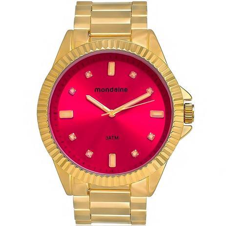 Imagem de Relógio Feminino Mondaine Analógico 76480LPMVDE1 dourado