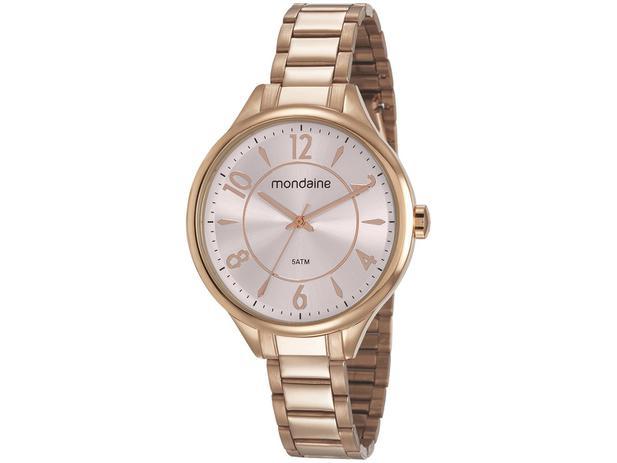 b10341a6e35 Relógio Feminino Mondaine Analógico - Resistente à Água 53741LPMGRE2