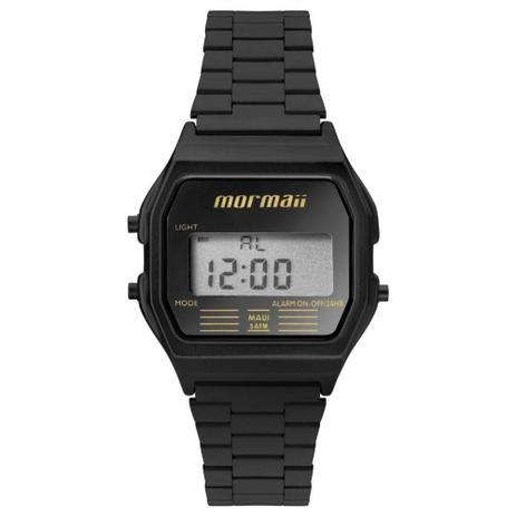 a8a768b5838 Relógio Feminino Mormaii Vintage Digital Mojh02aj 4p Preto - Relógio ...
