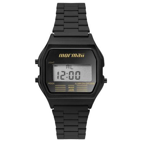 93f20a5c5a6 Relógio Feminino Mormaii Vintage Digital Mojh02aj 4p Preto - Relógio ...