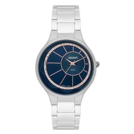 ffa00505929 Relógio Feminino Orient Analógico FBSS0073 D1SX - Prata - Relógio ...
