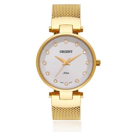5dee0da053 Relógio Feminino Orient Analógico FGSS0070 S1KX Dourado - Relógio ...
