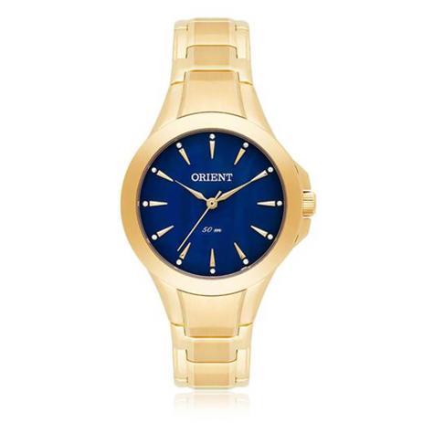 841e197419d Relógio Feminino Orient Analógico FGSS0084 D1KX Fundo Azul - Relógio ...