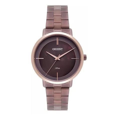 7c6d7a1c382 Relógio Feminino Orient Analógico FTSS0059 N1NX - Marrom - Relógio ...