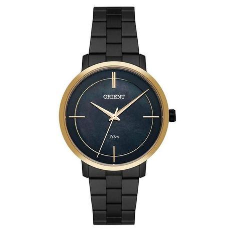 88f7ddda71f Relógio Feminino Orient FTSS0058 P1PX - Preto Dourado - Relógio ...