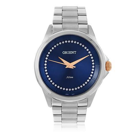 b56c2e55341f7 Relógio Feminino Orient Swarovski FBSS0056 D1SX Com Cristais ...