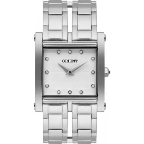 da732766691 Relógio Feminino Prata Orient LBSS0078 B1VX Eternal Cristais ...