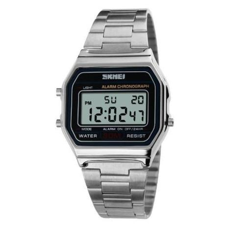 3b0179688d8 Relógio Feminino Retro Skmei Digital 1123 Prata - Relógio Feminino ...