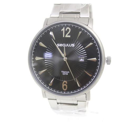 577d5c7b27a Relógio Feminino Seculus 20531G0SVNT1 - Relógio Feminino - Magazine ...