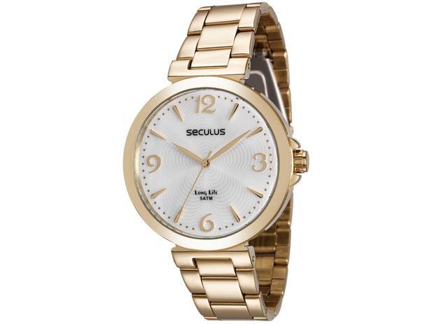 8ba627d108d Relógio Feminino Seculus Analógico 28818LPSVDA1 - Relógio Feminino ...