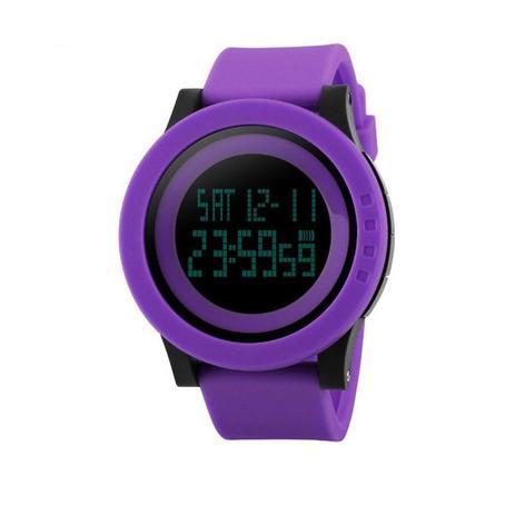 33822df21b0 Relógio Feminino Skmei Digital 1193 Roxo - Relógio Feminino ...