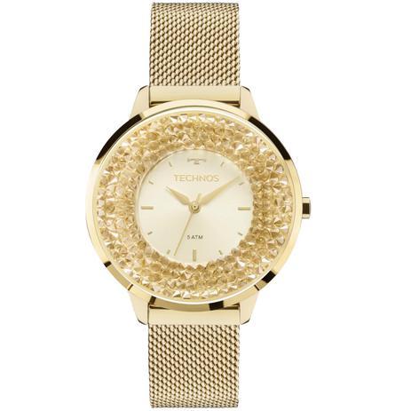d6c3e4b6719 Relógio Feminino Technos 2035MLG 4X Pulseira Aço Dourada - Relógio ...
