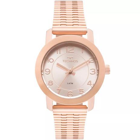 Relógio Feminino Technos 2035MLT 4J Aço Rose - Relógio Feminino ... 620eb74c85