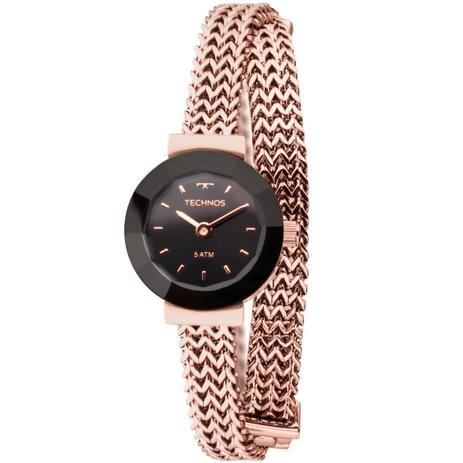 Relógio Feminino Technos 5Y20IR 4P 22mm Aço Rose - Relógio Feminino ... a4a67b0e5b