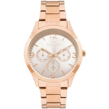 Relógio Feminino Technos Analógico Elegance - Rose Gold 6p29ajm 4k ... d463c17a9a