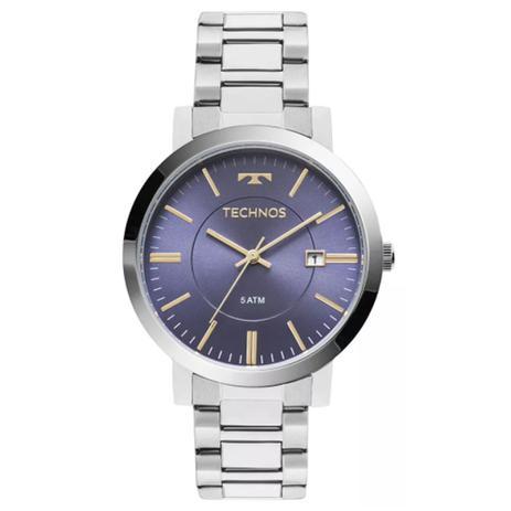 ac337cf9447b9 Relógio Feminino Technos Dress 2115KZY 3A Prata - Relógio Feminino ...