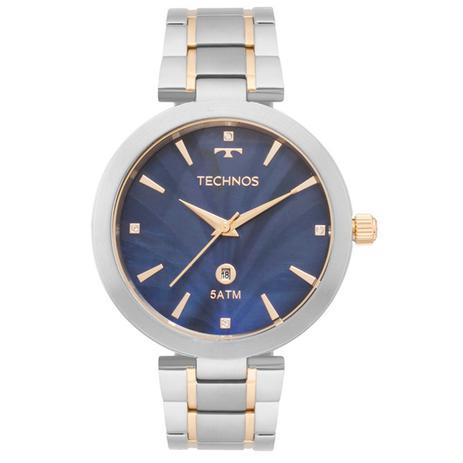 203772a21ff Relogio feminino technos elegance dourado gl10if 5a - Relógio ...