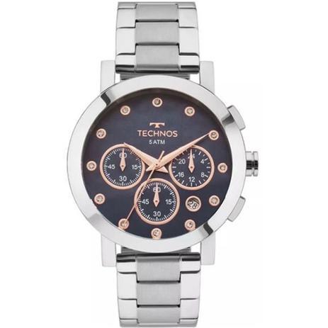Relógio Feminino Technos Elegance Ladies OS2ABJ 1A - Prata - Relógio ... 84d8603ff5