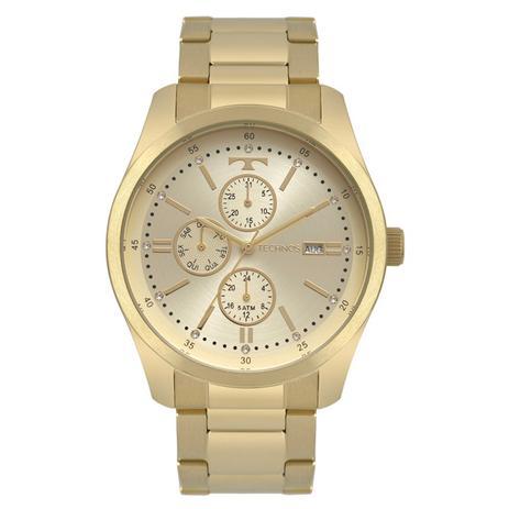 72ebefe1223da Relogio feminino technos fashion dourado 6p89hy 4x - Relógio ...