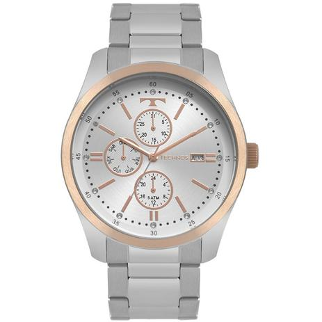 ce6f09946b640 Relogio Feminino Technos Fashion Prata 6P89HZ 5K - Relógio Feminino ...