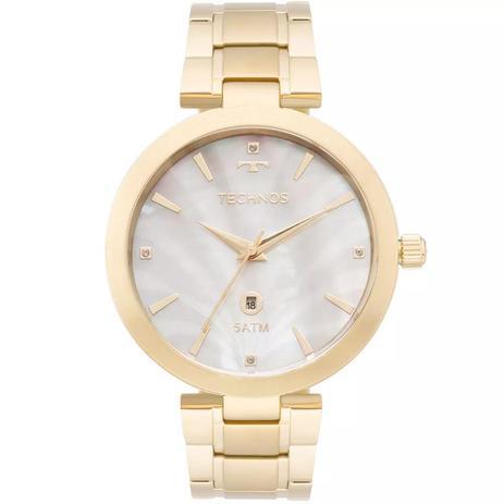 2ef52b9f1c966 Relógio Feminino Technos GL10ID 4B Aço Dourado - Relógio Feminino ...