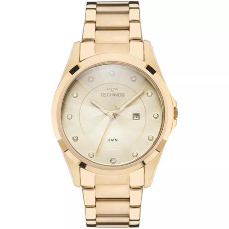 c8b67ce796eda Relógio Feminino Technos GN10AS 4X Aço Dourado - Relógio Feminino ...