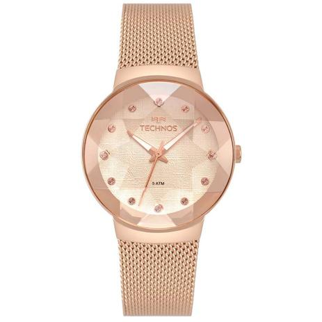 Relogio feminino technos mash rose 2035mpx 5t - Relógio Feminino ... 628e7fe7a2