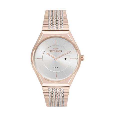 Relogio Feminino Technos Rose Gold Fashion Slim GL15AP 4B - Relógio ... 0da9da2e32