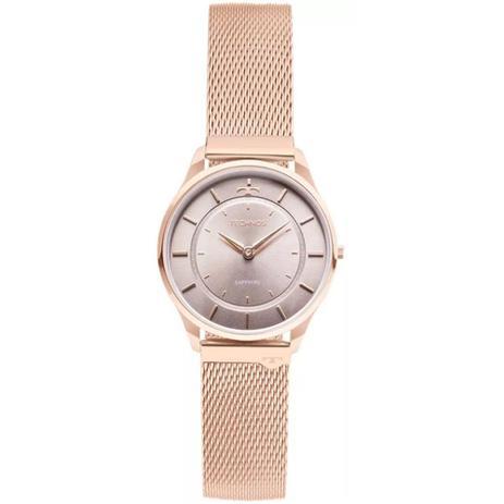 Relógio Feminino Technos Slim Analógico 9T22AL 4C - Rosê - Relógio ... 6a8a7a95ed