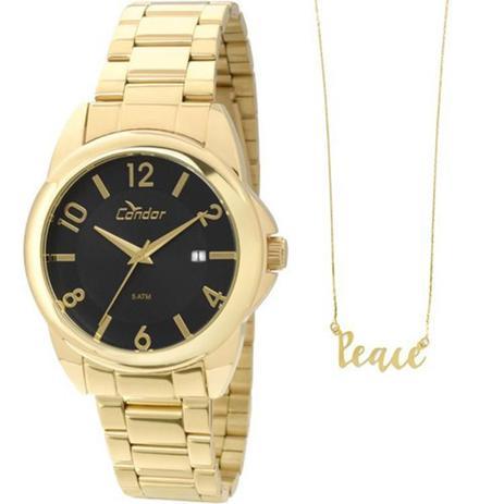 06dd236ab11 232ec1df28e46e  Relógio Femininos Condor CO2115SX 4P - Dourado - Relógio  Feminino ... a5227fa0dd6843 ...