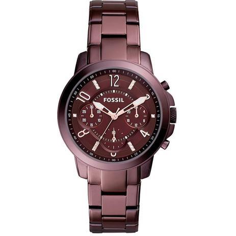 8f5365a5fb4d0 Relógio Fossil Feminino Ref  Es4136 4nn Chocolate - Relógio Feminino ...