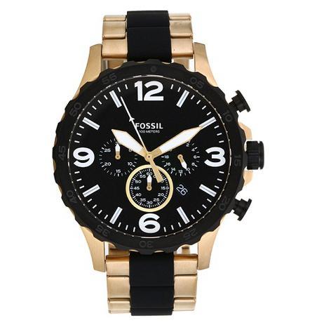 7247f01da1bab Relógio Fossil Masculino Nate JR1526 4PN - Relógio Masculino ...