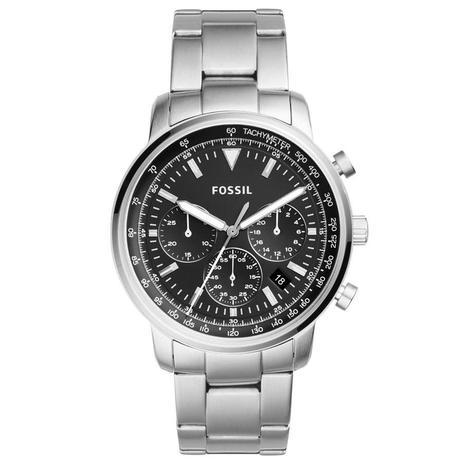 Relógio Fossil Masculino Ref  Fs5412 1kn Cronógrafo Prateado ... 97dcbc3b0d
