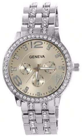 46827f20df4 Relógio Geneva 2812 Dourado