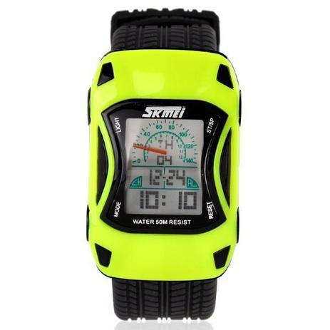 5a69f7429b0 Relógio Infantil Skmei Digital 0961 Verde - Relógio Infantil ...