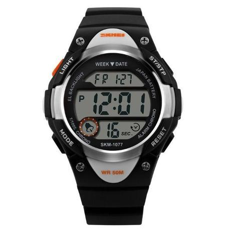 f5dced07a12 Relógio Infantil Skmei Digital 1077 Preto - Relógio Infantil ...