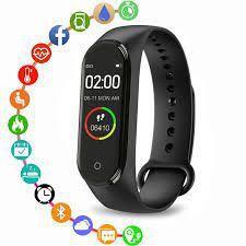 Imagem de Relógio Inteligente Pulso Freqüência Cardíaca Pressão Arterial Esportes