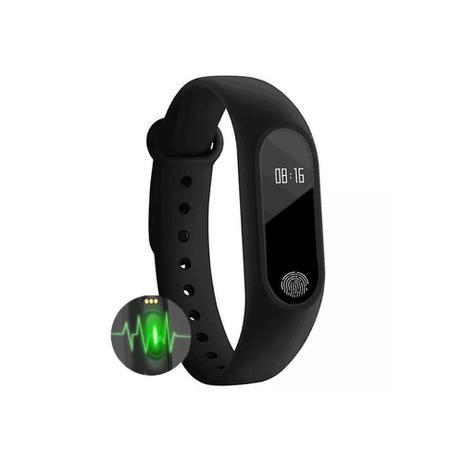 52fa3c2865a Relogio Inteligente Smartband M2 Bluetooth Frequência Cardiaca Pedometro -  Diversos