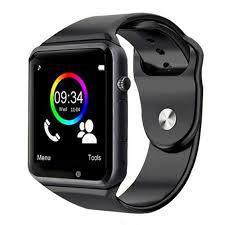 Imagem de Relógio Inteligente Smartwarch A1 Android Iphone Chip Bluetooth - Preto