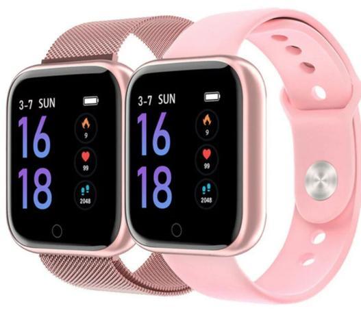 Imagem de Relógio inteligente T80 IP67 Smartwatch Frequência Cardíaca Monitor de Pressão Arterial Esporte Saúde Relógio Banda Para Android e IOS