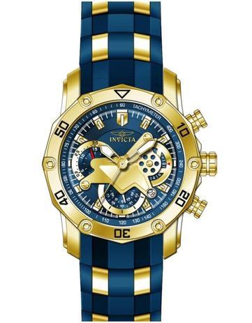 89eac4de76a Relógio Invicta Pro Diver 22798 Azul Dourado Lançamento - Relógio ...