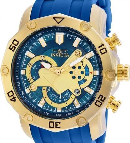 e70c7601f4 Relógio Invicta Pro Diver 22798 Azul Dourado Masculino - Relógio ...