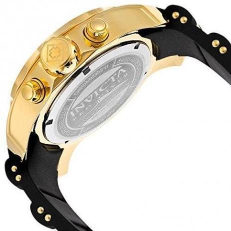 adbe2daf127 Relógio Invicta Pro Diver Dourado Masculino 6981. - Relógio ...