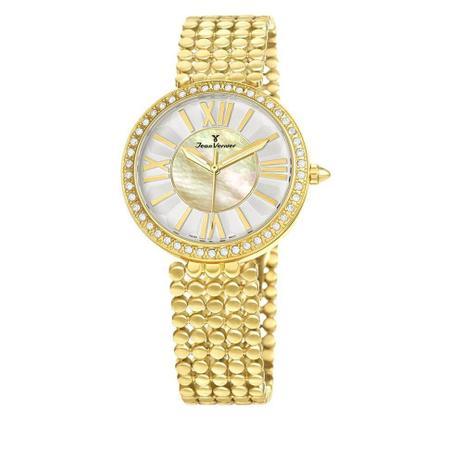 Imagem de Relógio Jean Vernier Feminino Ref: Jv1320 Fashion Dourado